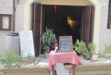 Redakce Gastro&Hotel na cestách: Itálie, Toskánsko, Riparbella, restaurace Osteria in Cantina