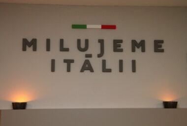 Otevření nového obchodu Milujeme Itálii
