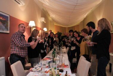 Vánoční večírek Gastro&Hotel v restauraci Deco