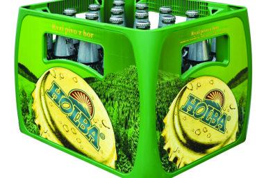 Holba začala stáčet pivo do nových lahví