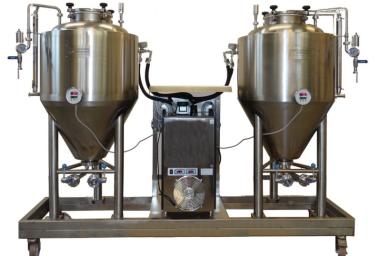 Kvasná stanice pro vzorkovou výrobu nových druhů piva