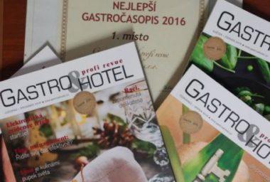 Nejlepší Gastro časopis je po čtvrté Gastro&Hotel profi revue!