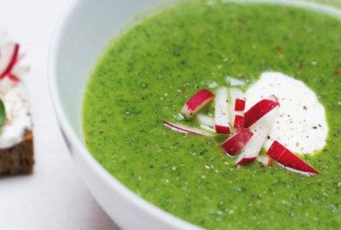 Bonusový recept k Týdnu francouzských polévek: Ředkvičková polévka