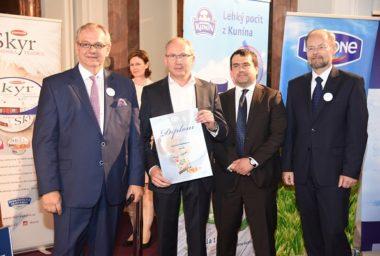 Výrobky Brazzale Moravia opět výrazně zabodovaly v soutěži Mlékárenský výrobek roku 2017