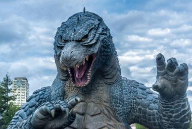 Godzilla v Tokiu