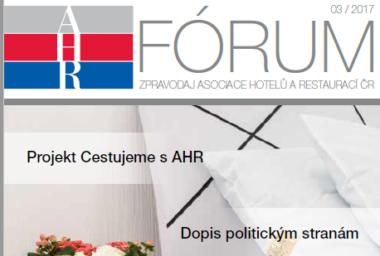 AHR Fórum 3/2017