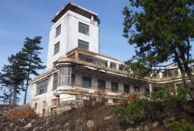 Na Barrandovských terasách začal růst nový hotel