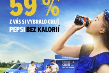 Pepsi dostala přednost v letošním Souboji chuti