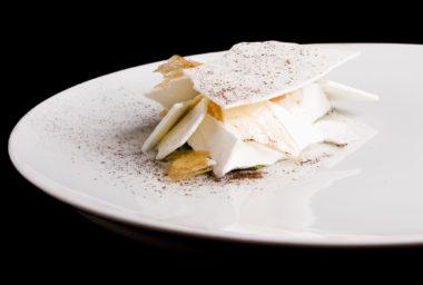 Recept podle šéfkuchaře Stephena Senewiratne: Celer, popel, jogurt a chlorofyl