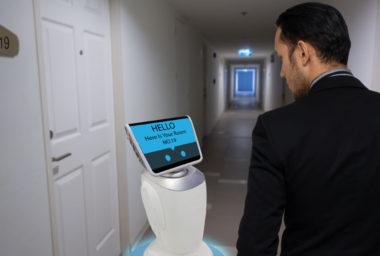 Moderní hotelové pokoje se blíží sci-fi