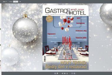 Vánoční číslo Gastro & Hotel