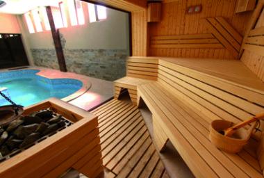 Sauna: horko. ale i útulno (část 1.)
