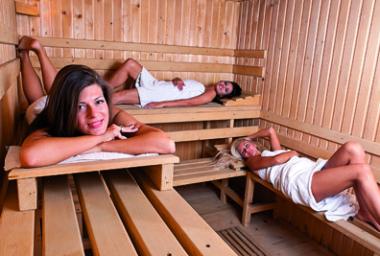 Sauna: horko, ale i útulno (část 2.)