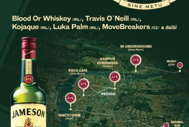 Na tour sv. Patrika vystoupí irští Blood or Whiskey. Praha si užije průvod centrem města