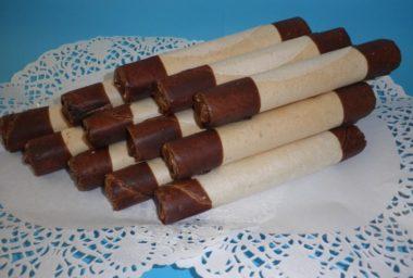 Typický dezert z východních Čech: Hořické trubičky