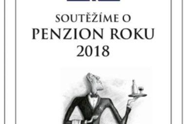 Přihlašte se do souteže o nejlepší penzion roku 2018