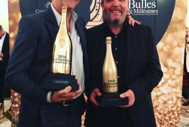Nicolas Jaeger z šampaňského domu Alfred Gratien byl oceněn jako sklepmistr roku