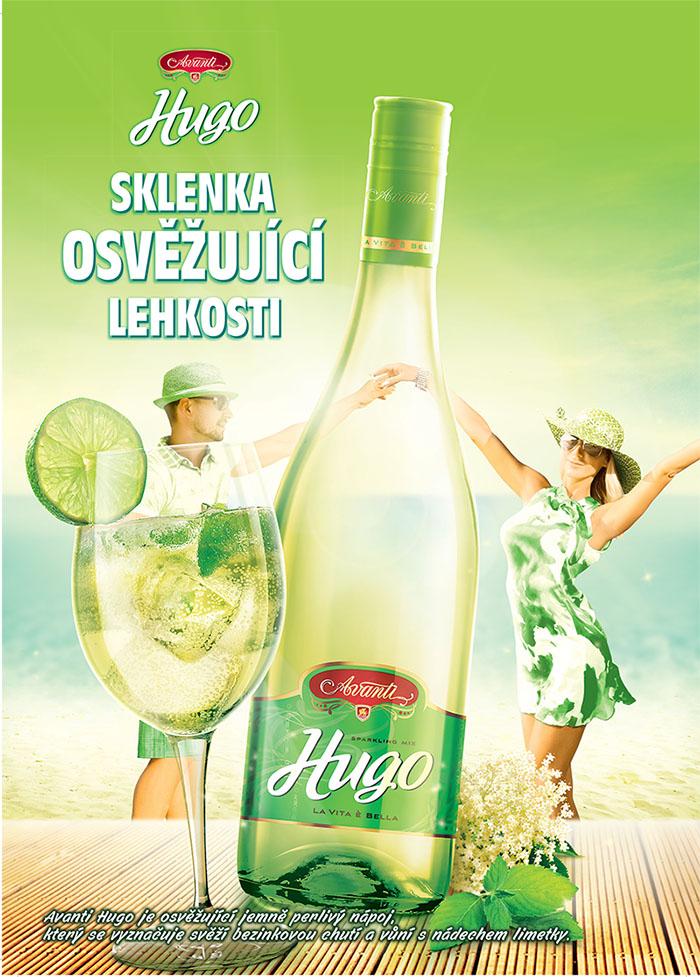 """Novinka Avanti Hugo – """"ready-to-drink"""" varianta populárního koktejlu"""