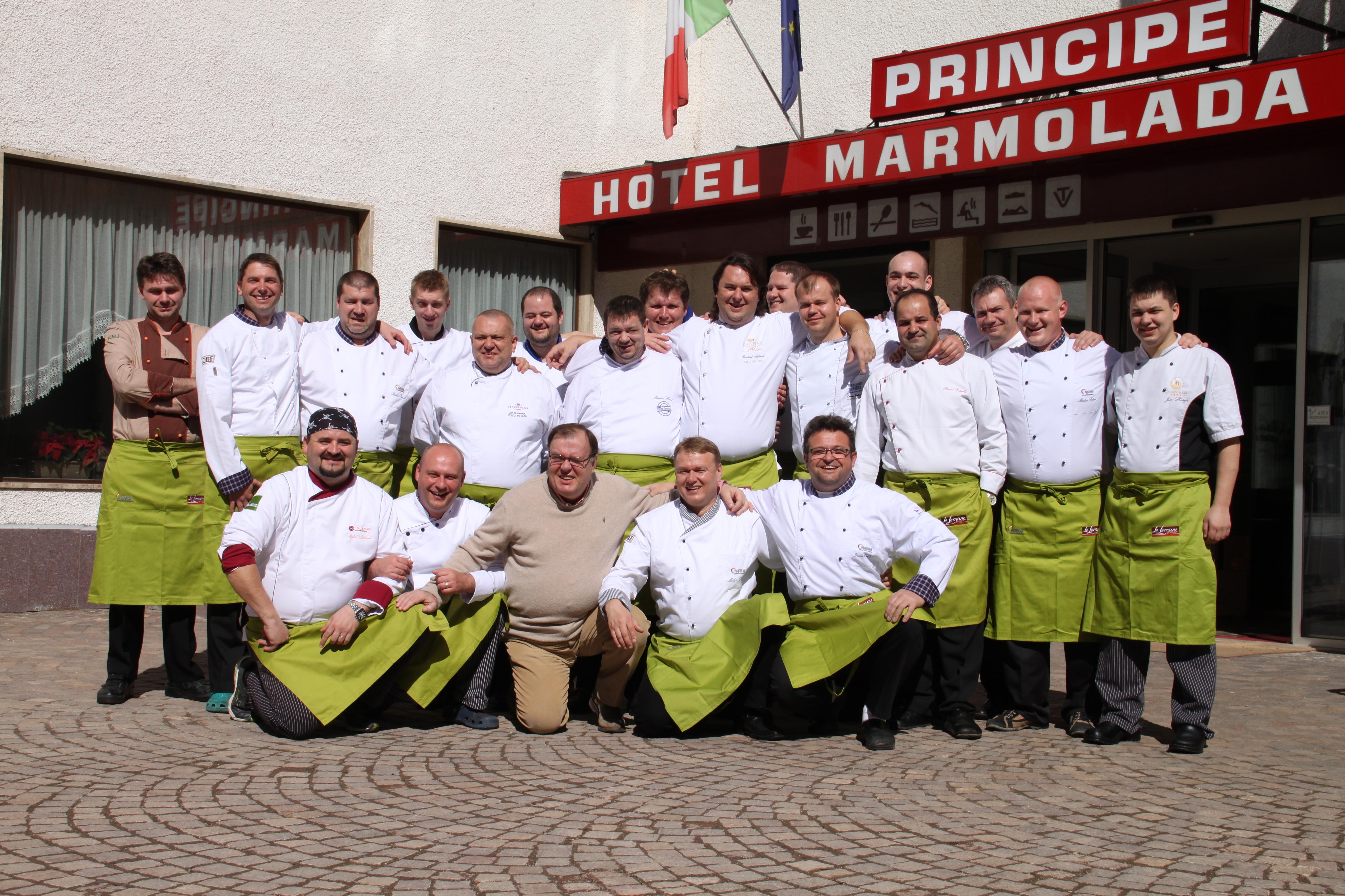 Redakce Gastro&Hotel na cestách: Marmolada 2014
