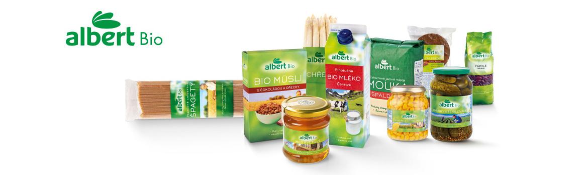Září: měsíc biopotravin také v Albertu