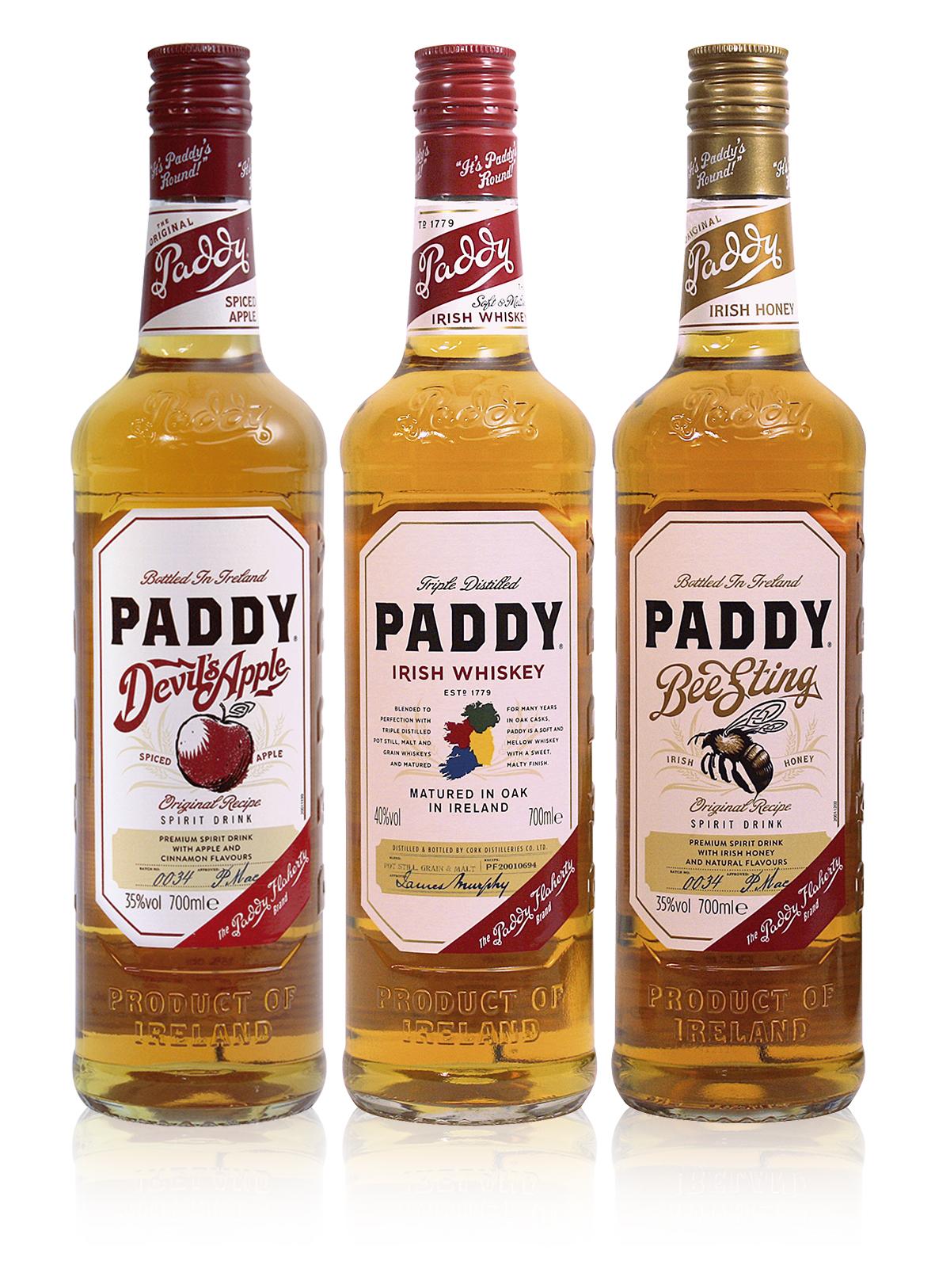 Jablečno-skořicová nebo s medem? Poznejte koncert nových chutí irské whiskey Paddy!