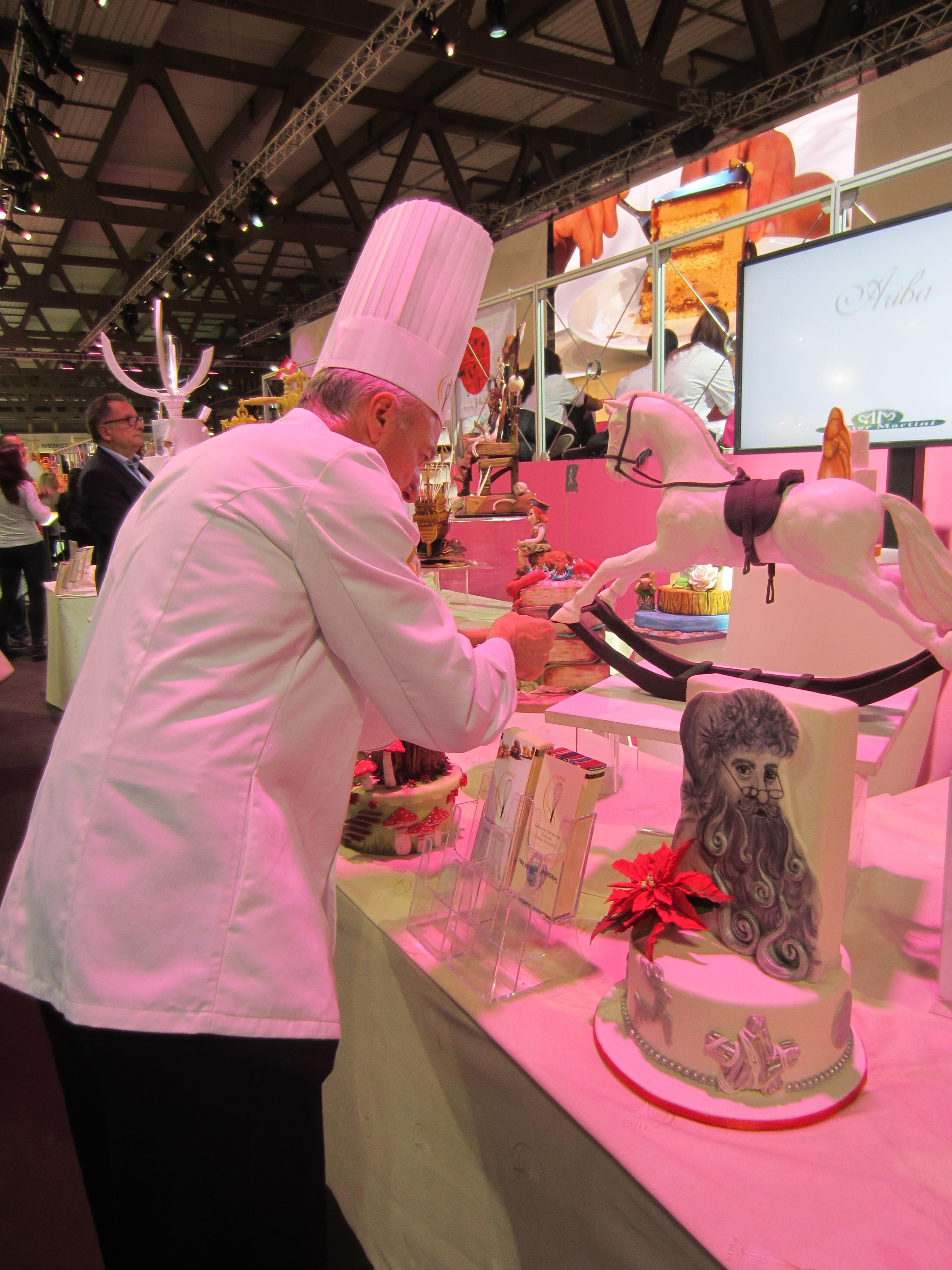 Sladké mistrovství – mistovství světa ve výrobě dostů na veletrhu Host Milano