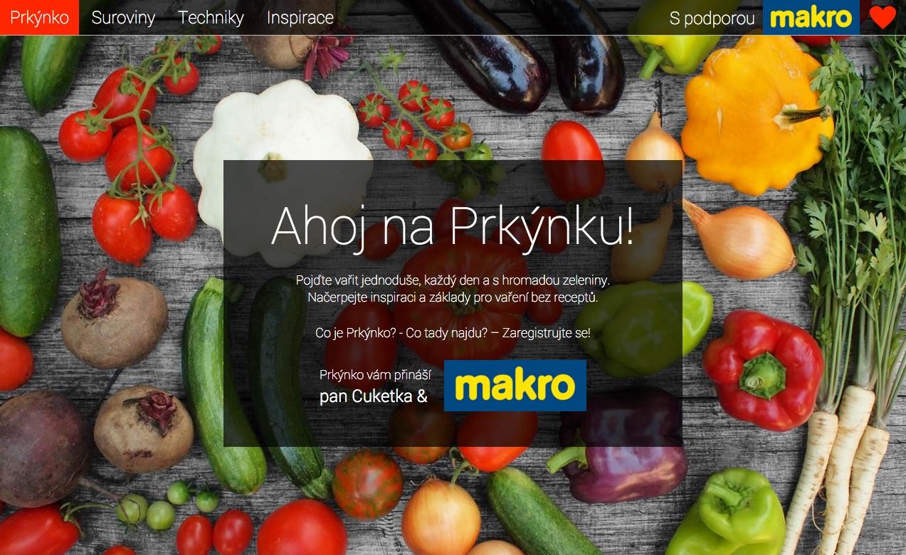Chcete se naučit vařit i bez receptů nebo najít inspiraci pro sezónní vaření? Jděte na Prkýnko.cz, nový projekt pana Cuketky