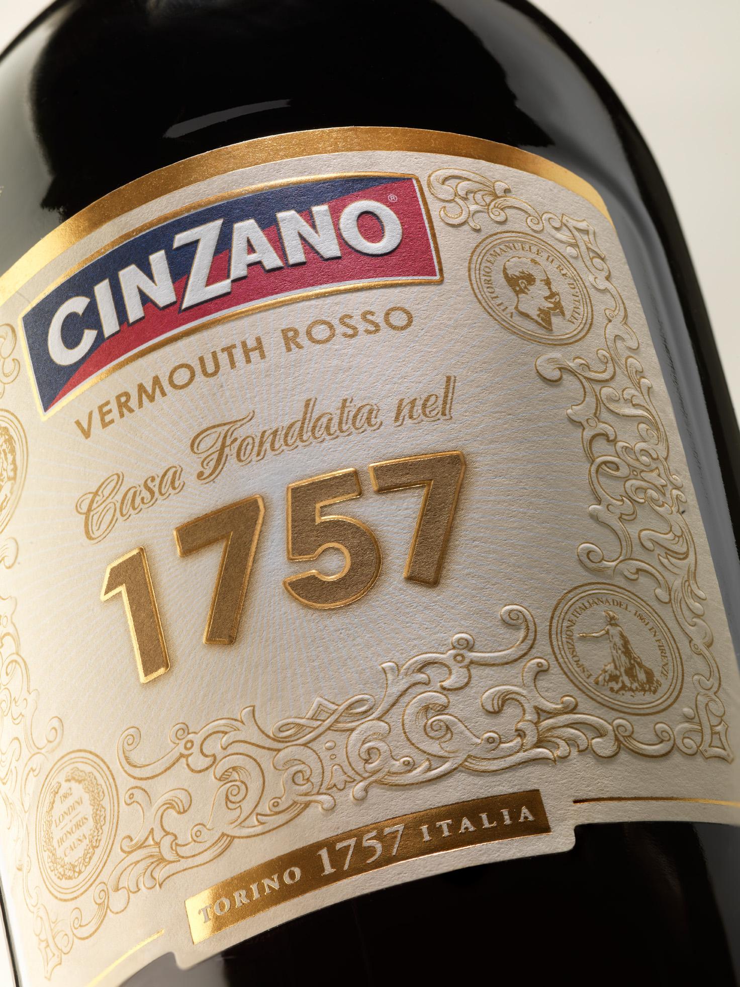 Cinzano 1757 – z velké klasiky atraktivní moderna!