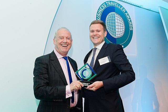 Velké ocenění pro hotel Hilton Prague na udílení cen Business traveller awards 2015
