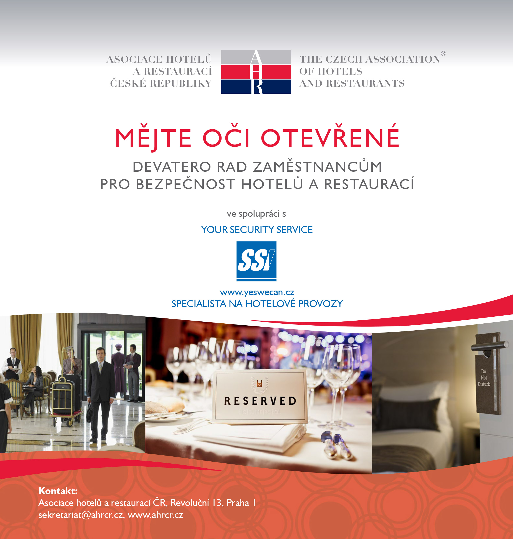 Bezpečnost v hotelech a restauracích aneb mějte oči otevřené!