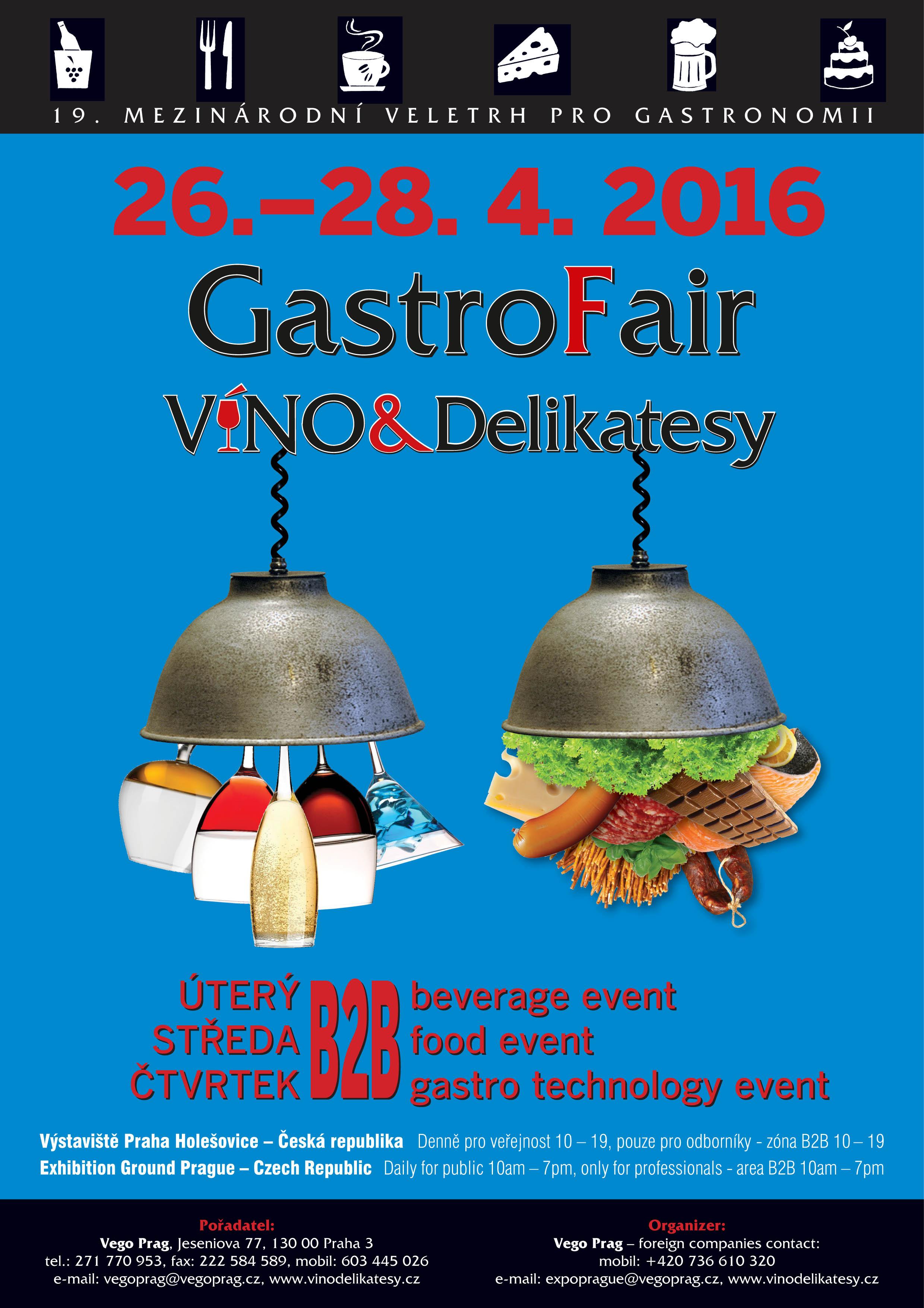 Víno&Delikatesy – GastroFair 2016