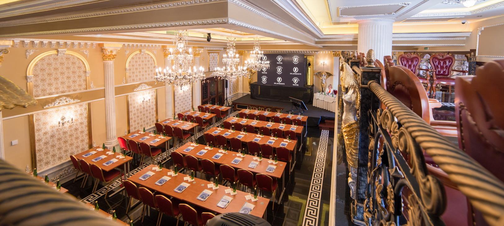 Nově otevřený Cabaret Aphrodite nabízí luxus i firmám