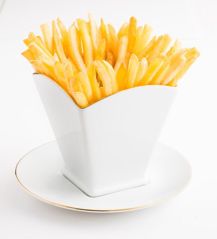 Nový produkt na servírování hranolků vznikl v porcelánce Haas & Czjzek