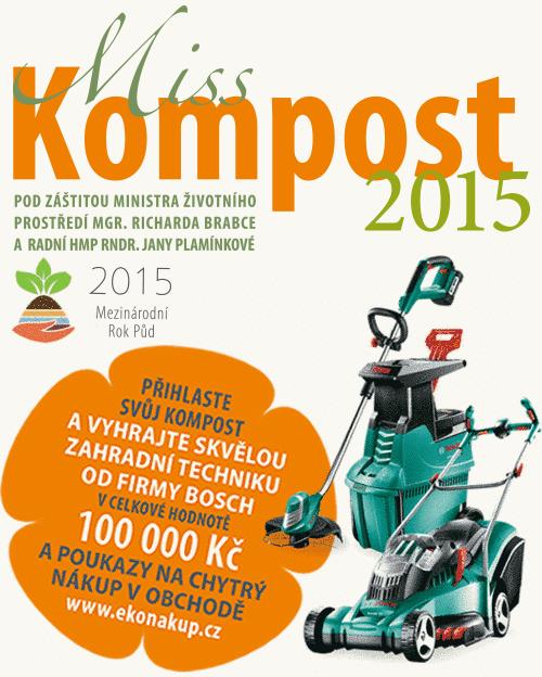 Česko zná novou Miss Kompost 2015