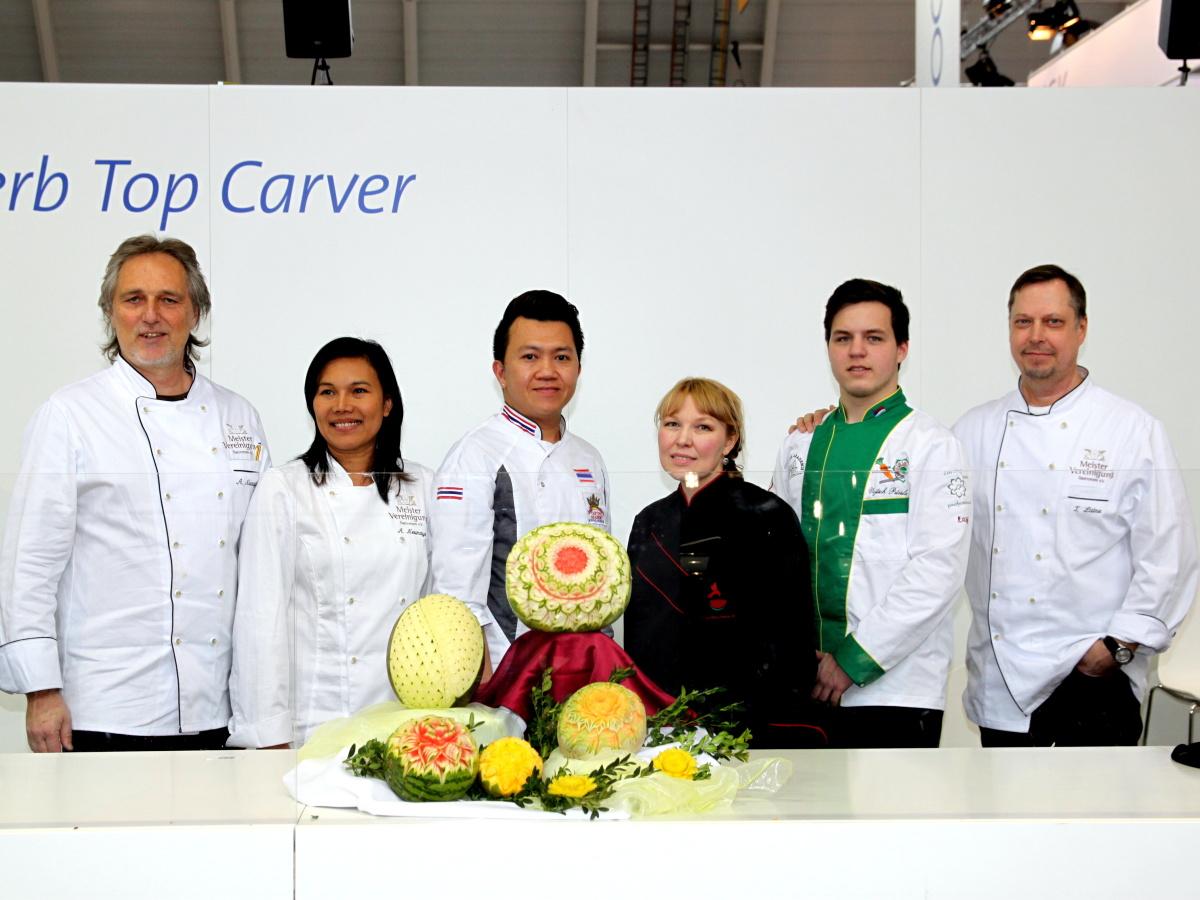 Český řezbář zvítězil na carvingové soutěži ve Stuttgartu
