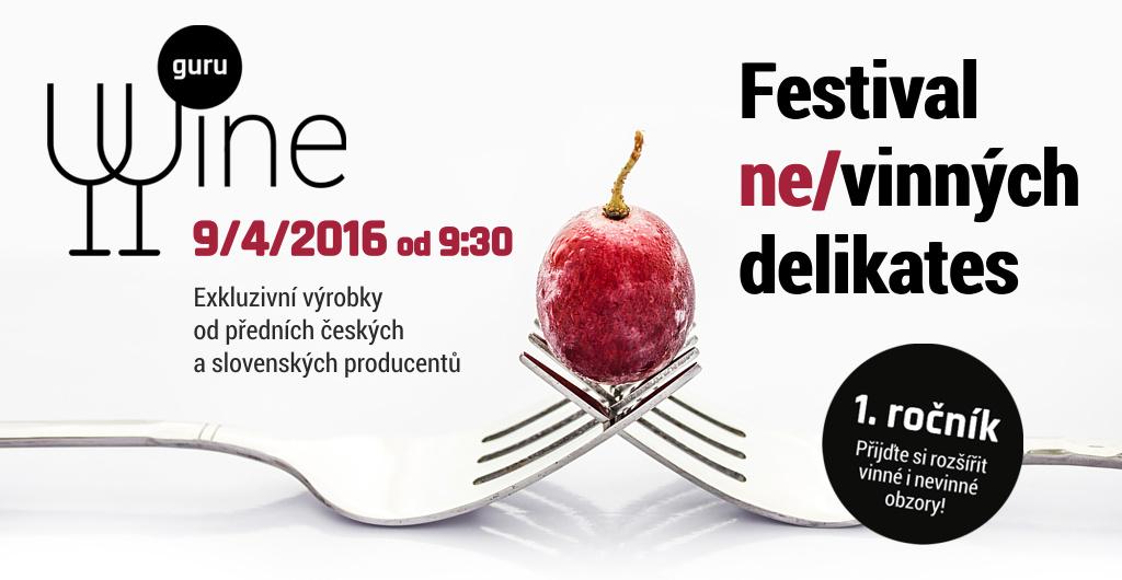 (Ne)vinný festival Wine Guru nabídne výrobky z vína