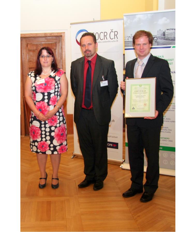 Maloobchodní prodejny Skupiny COOP získaly již potřetí certifikát kvality HACCP