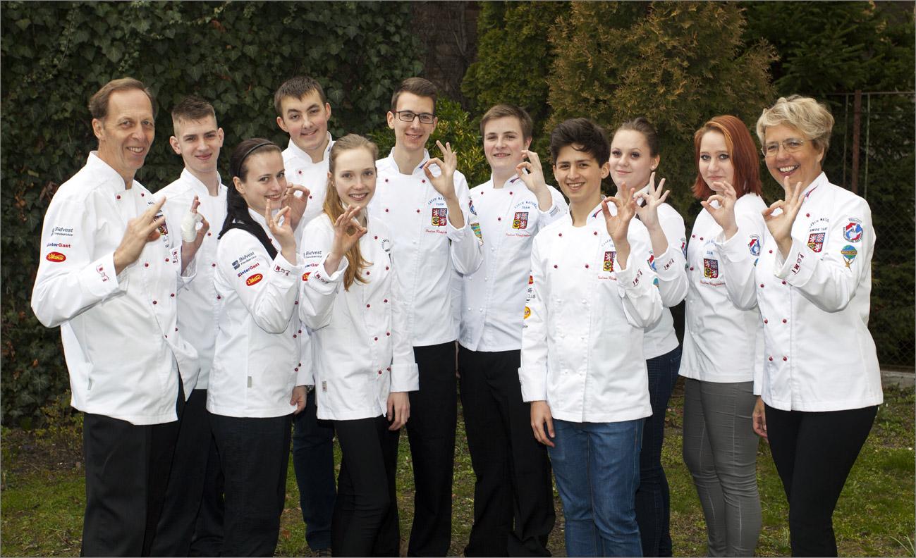 Gastrojobs.cz nyní podporuje Juniorský národní tým AKC ČR