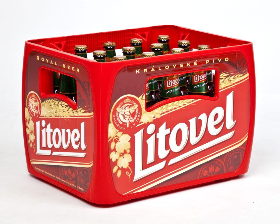 Nové přepravky Pivovaru Litovel vyhrály Obal roku 2016