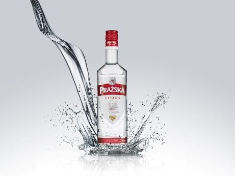 Německý test ocenil kvalitu Pražské vodky
