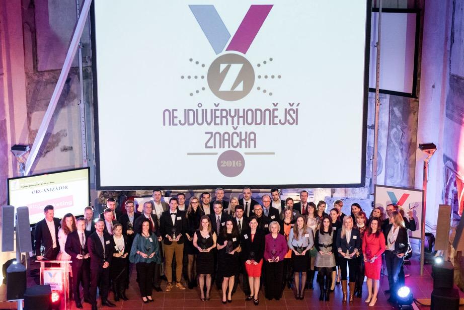 Nejdůvěryhodnější značky roku 2016 – Češi zůstávají věrní tradici
