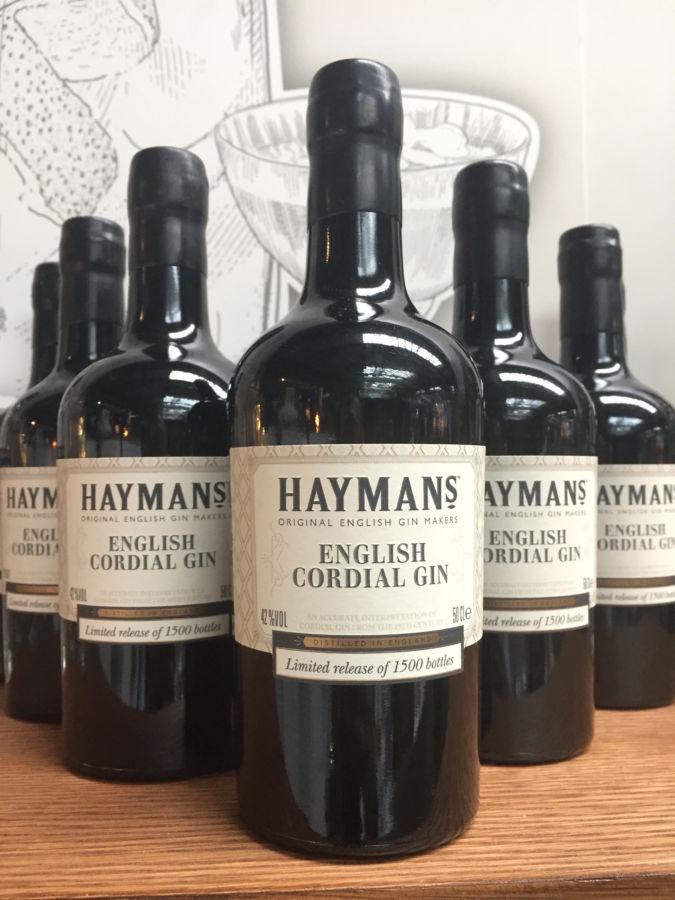 Limitovaná edice Hayman's: znovustvořený prémiový gin z 19. století