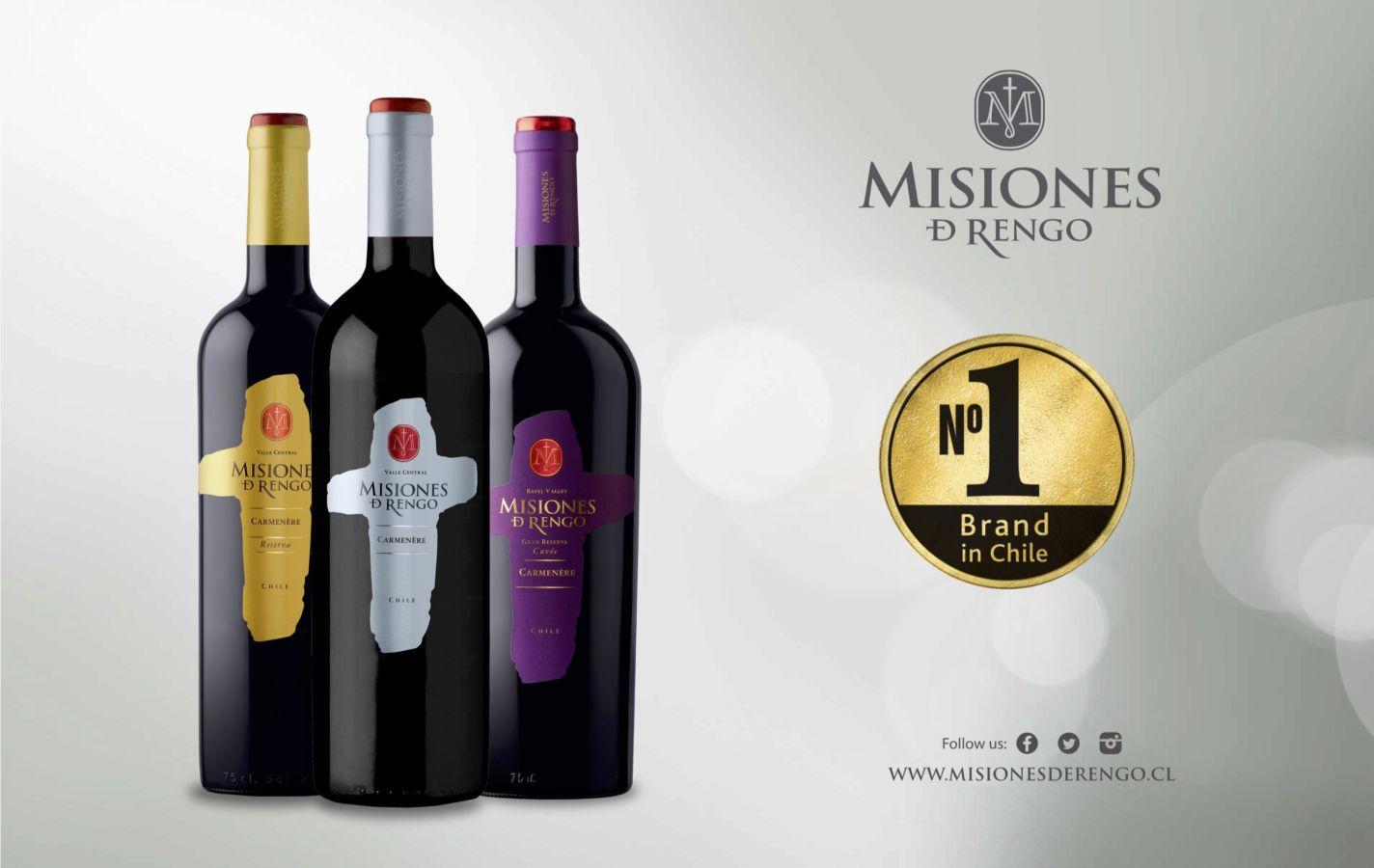 Misiones de Rengo: Populární misionářské víno z Chile
