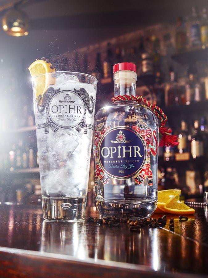 Opihr Gin: Destilát s pikantní chutí orientu
