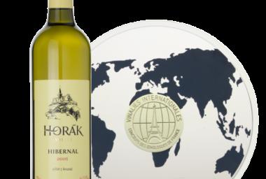 Moravský Hibernal se stal nejlepším bílým vínem na světě