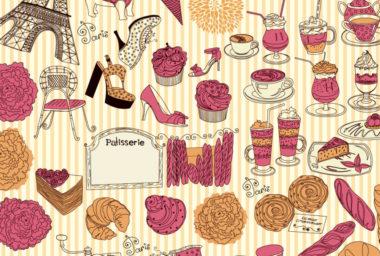 """Gastronomie """"sladké"""" Paříže"""
