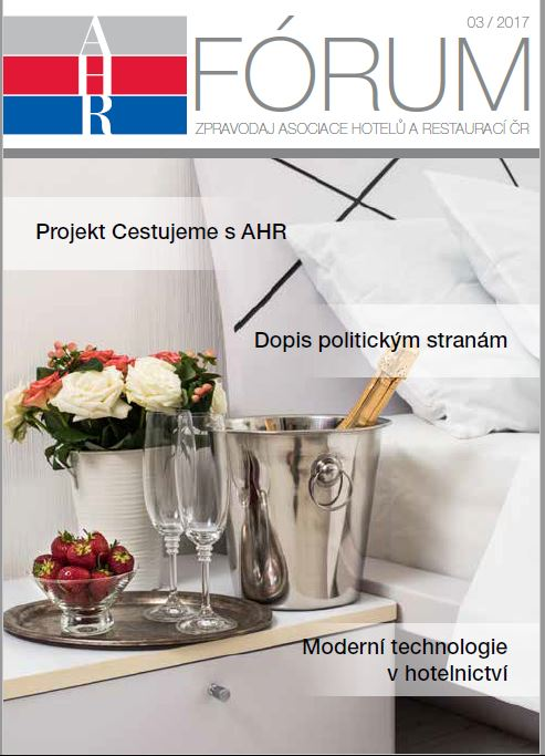 Výchází nové číslo časopisu AHR Fórum