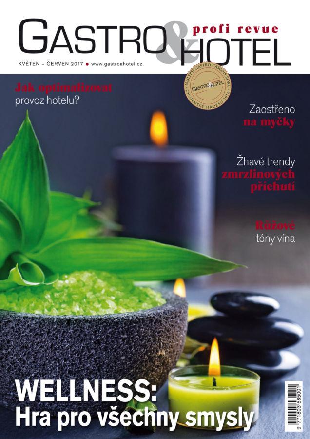 Letní pohodu s prázdninovým číslem Gastro&Hotel: pozvánka šéfredaktorky