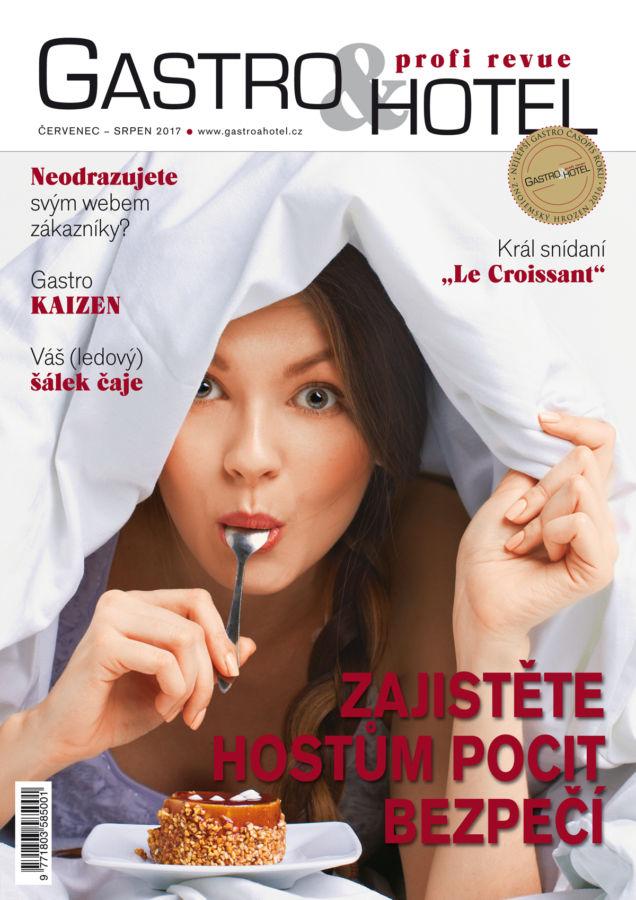 Editorial srpnového čísla časopisu Gastro a Hotel: co nabízíme turistům?