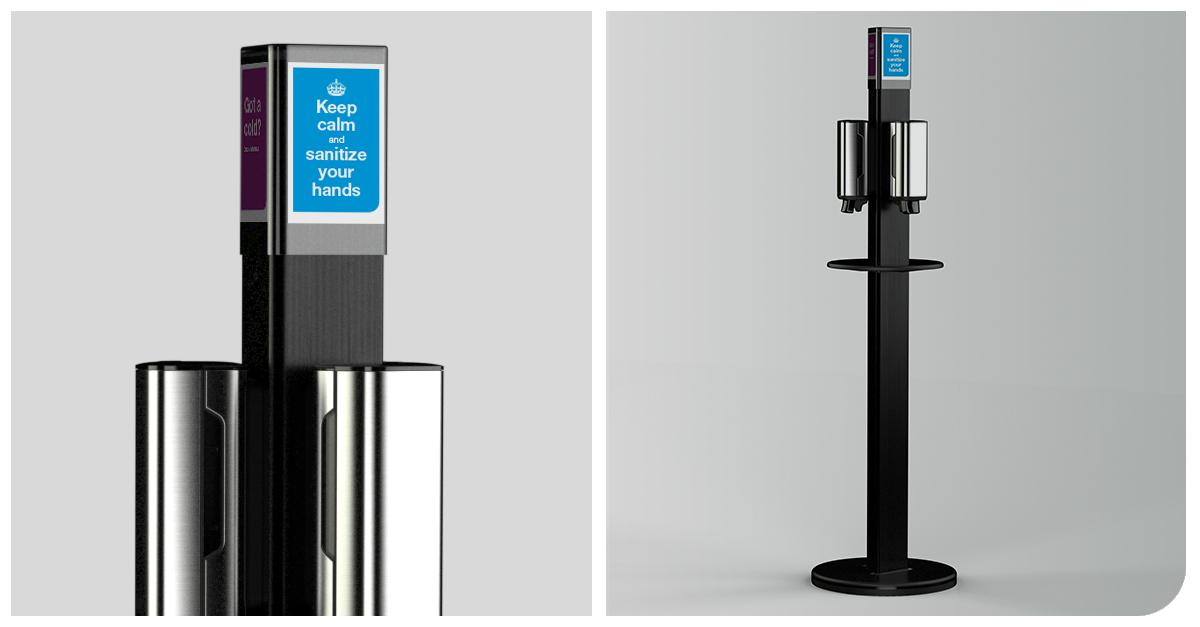 Hygienický stojan Tork – nová dimenze hygieny pro kanceláře a budovy